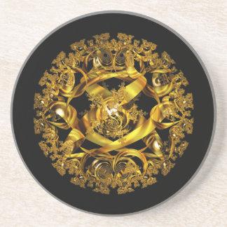 Den guld- orben spänner underlägg