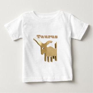 Den guld- Oxen undertecknar T-shirt