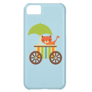Den gulliga babytigern på glassvagnen lurar gåvor iPhone 5C fodral