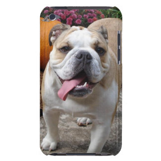 Den gulliga engelska bulldoggipod touch case iPod touch skal