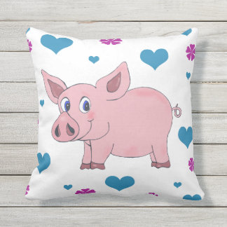 Den gulliga grisen kudder kudde