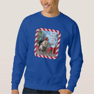 Den gulliga julekorren, har nötliknande julafton!! lång ärmad tröja