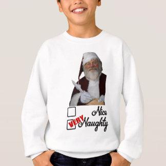 Den gulliga julen stygga Sanktt NIcholas listar Tee Shirts