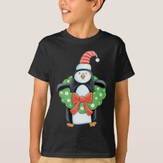 Den gulliga julpingvinet lurar skjortan t-shirts
