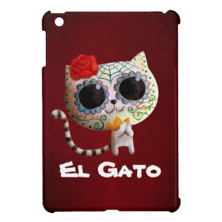 Den gulliga katten för day of the dead iPad mini  skal
