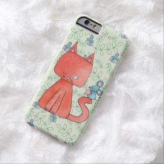 Den gulliga musen älskar kattungen barely there iPhone 6 skal