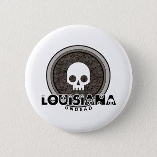 Den gulliga Punk skallen Louisiana knäppas Standard Knapp Rund 5.7 Cm