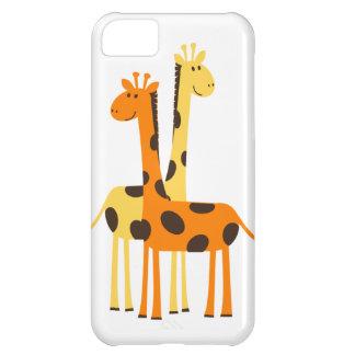 Den gulliga roliga giraffet parar iPhone 5C fodral