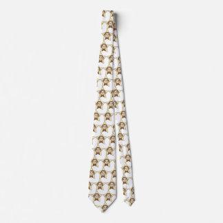 Den gulliga tecknaden fäster ihop konstapan med slips
