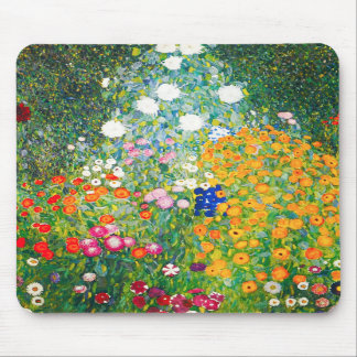 Den Gustav Klimt blomsterträdgårdmusen vadderar Musmatta