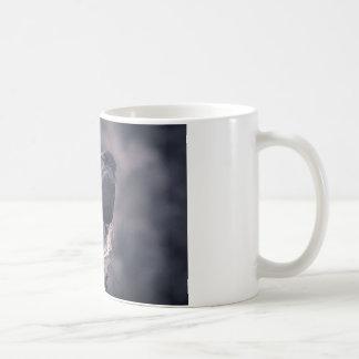 Den hållande ögonen på kråkan kaffemugg