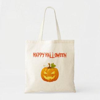 Den Halloween bus eller godis hänger lös Tygkasse