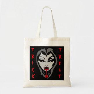 Den Halloween byten hänger lös vampyren som totot Budget Tygkasse