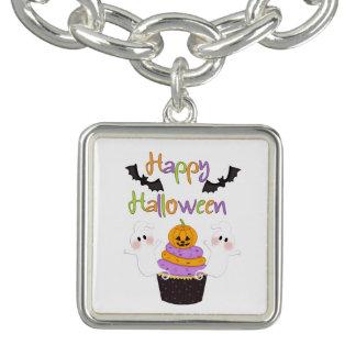 Den Halloween muffinen undertecknar Berlockarmband