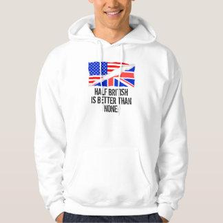 Den halva britten är bättre än inga sweatshirt