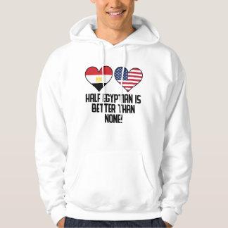 Den halva egyptier är bättre än inga sweatshirt
