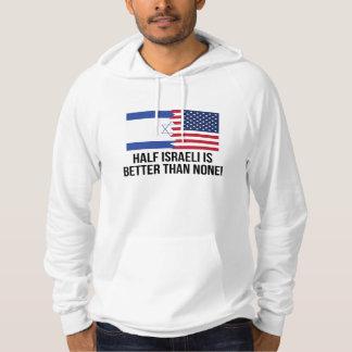 Den halva israelen är bättre än inga sweatshirt