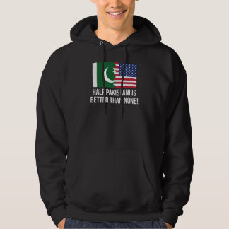 Den halva pakistanier är bättre än inga sweatshirt med luva