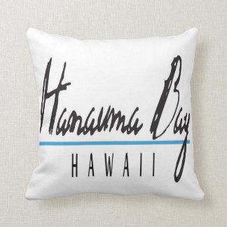Den Hanauma fjärden Hawaii kudder Kudde