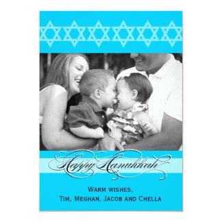 Den Hanukkah finare skrivar fotokort 12,7 X 17,8 Cm Inbjudningskort