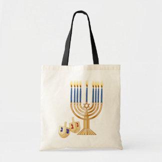 Den Hanukkah totot hänger lös Tygkasse