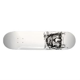 Den Haring designskridskon stiger ombord däcket Skateboard Bräda 21,5 Cm