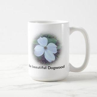 den härliga dogwooden kaffemugg