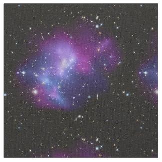 Den härliga kosmiska utrymmegalaxen samla i en tyg