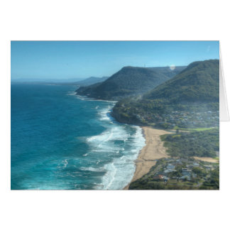 Den härliga kusten av Queensland, Australien Hälsningskort