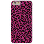 Den härliga shock rosaleoparden flår glittersken barely there iPhone 6 plus skal
