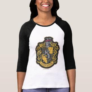 Den Harry Potter | Hufflepuff vapenskölden lappar T-shirts