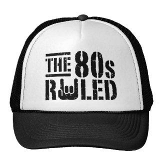 Den härskade 80-tal mesh kepsar