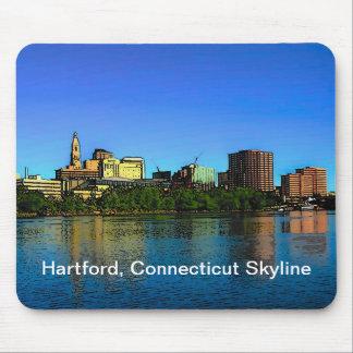 Den Hartford Connecticut horisontmusen vadderar Musmatta