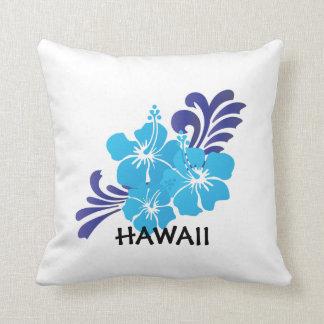 Den Hawaii hibiskusblomman kudder Kudde