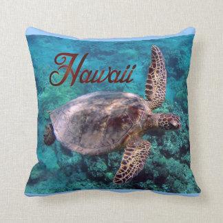 Den Hawaii sköldpaddan kudder Kudde
