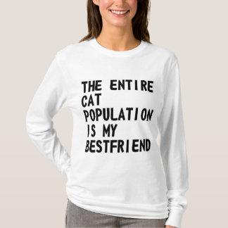 Den hela kattbefolkningen är… skjortan tröja