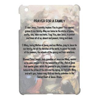 Den heliga familjen och bönen för en familj iPad mini skal