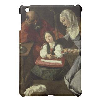 Den heliga familjen (olja på kanfas) (för iPad mini mobil skal