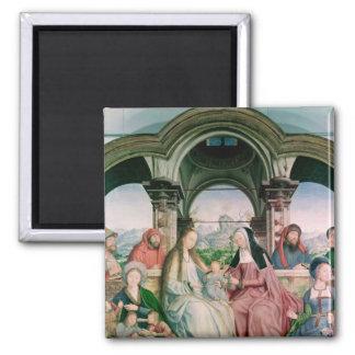 Den heliga likheten eller altarpiecen av St. Magnet