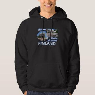 Den Helsingfors skjortan - välj stil & färga Tröja Med Luva
