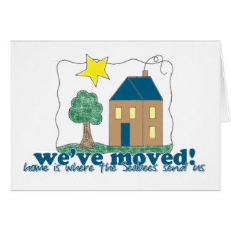 Den hem- vi har flyttat… är var seabeesna överför OBS kort
