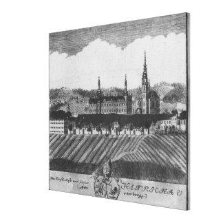 Den Henrykow abbeyen Canvastryck