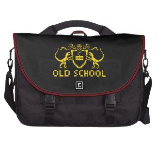 Den heraldiska PIXELDinosaurbärbar dator hänger Laptop Messenger Bag