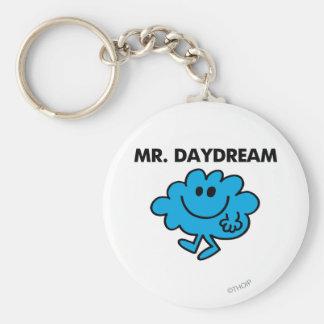 Den Herr dagdrömklassikern poserar Rund Nyckelring
