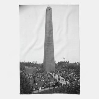 Den historiska bunkerbackemonumentet fotograferar kökshandduk