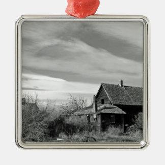Den historiska en sänker hemmanet B/W Julgransprydnad Metall