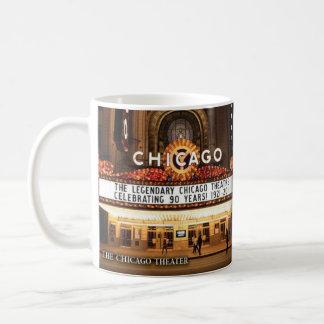 Den historiska muggen för Chicago teater Kaffemugg