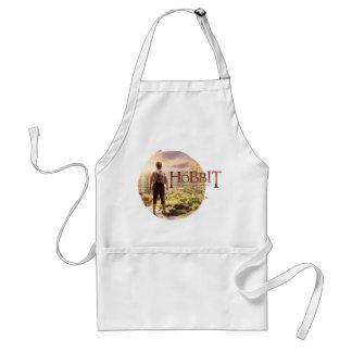 Den Hobbit logotypen med BAGGINS™ drar tillbaka Förkläde