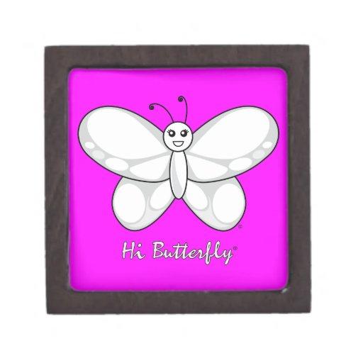 Den höga Butterfly® högvärdiga gåvan boxas Premie Prydnadslåda