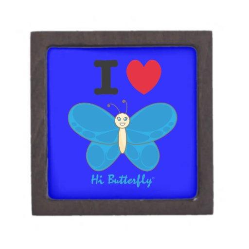 Den höga Butterfly® högvärdiga gåvan boxas